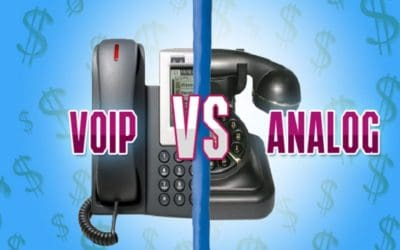 VoIP Telephone Cost Saving vs Traditional Analog